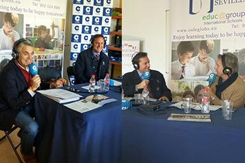 Agustín Bravo y Rafael Almansa de la COPE en el CBS