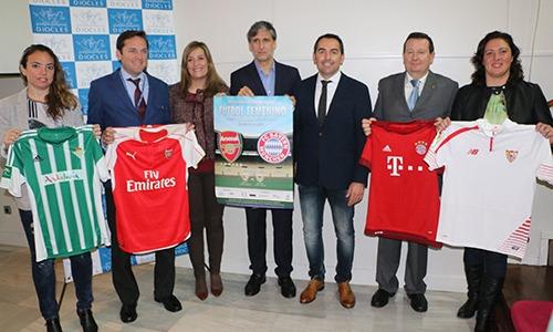 Invitación Pablo Alfaro a Partido Amistoso entre Arsenal Ladies vs. Bayern Múnich (fútbol femenino)
