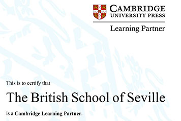 Sello oficial de Cambridge Learning Partner para el CBS