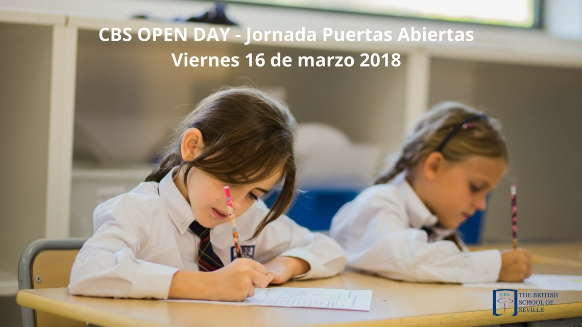 Open Day 2018 – Jornada de puertas abiertas en CBS, The British School of Seville