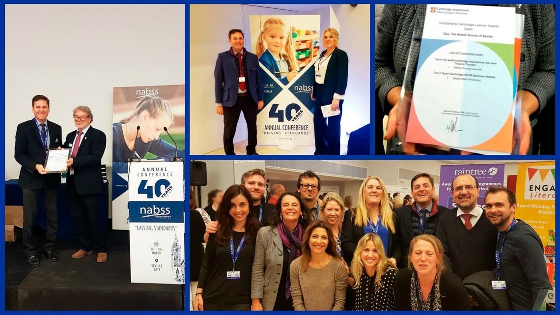 Reconocimiento especial al CBS en el 40 Congreso Nacional de Nabss en Sevilla