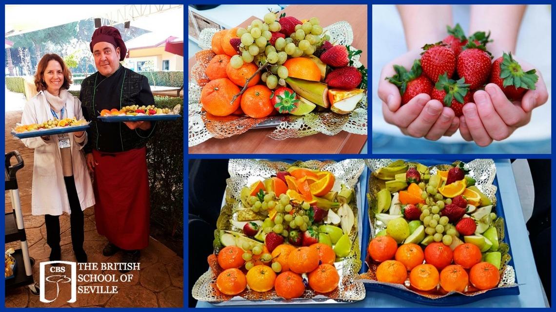 Celebración del mes de la salud y la buena alimentación en el CBS, The British School of Seville