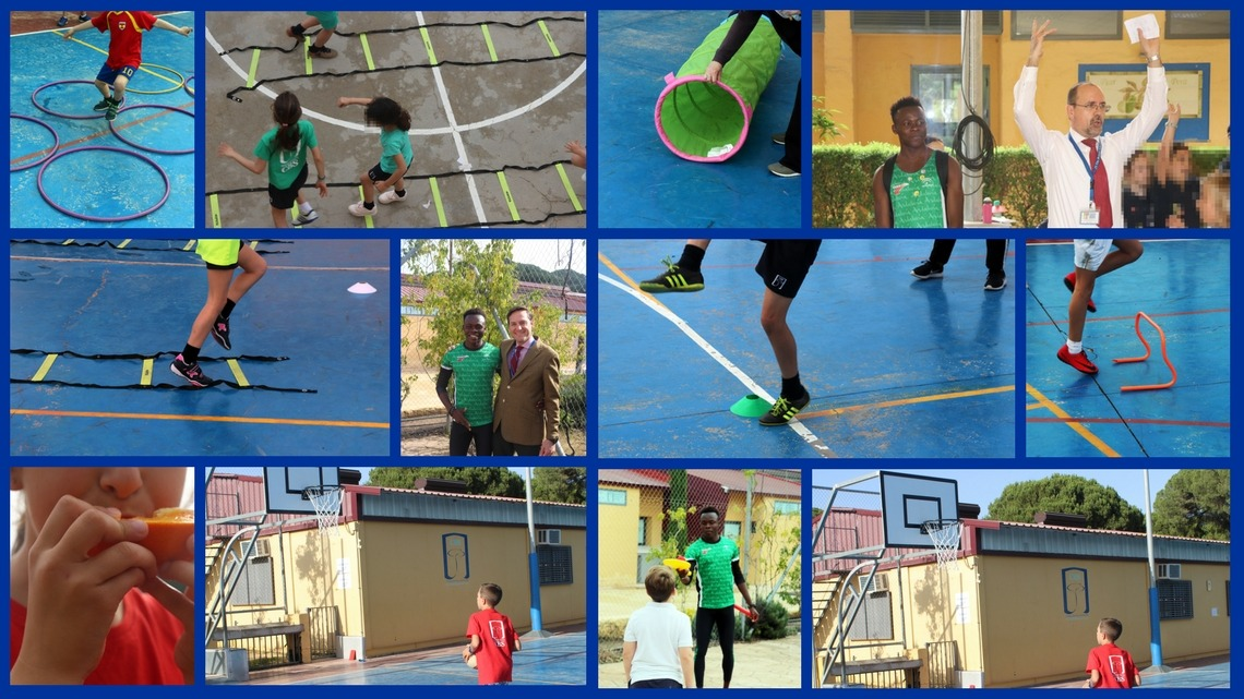 Día del deporte primaria – Primary Sports Day at CBS 2018