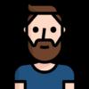 hombre-barba-camiseta