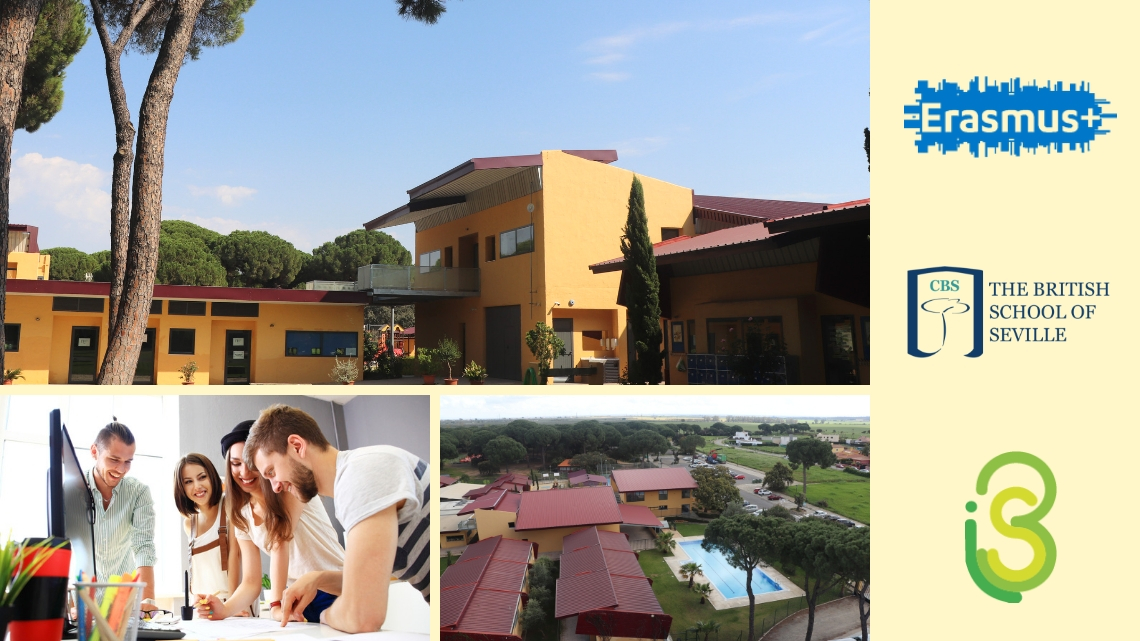 CBS, The British School of Seville, apuesta por la movilidad estudiantil junto con 3Si y Erasmus +