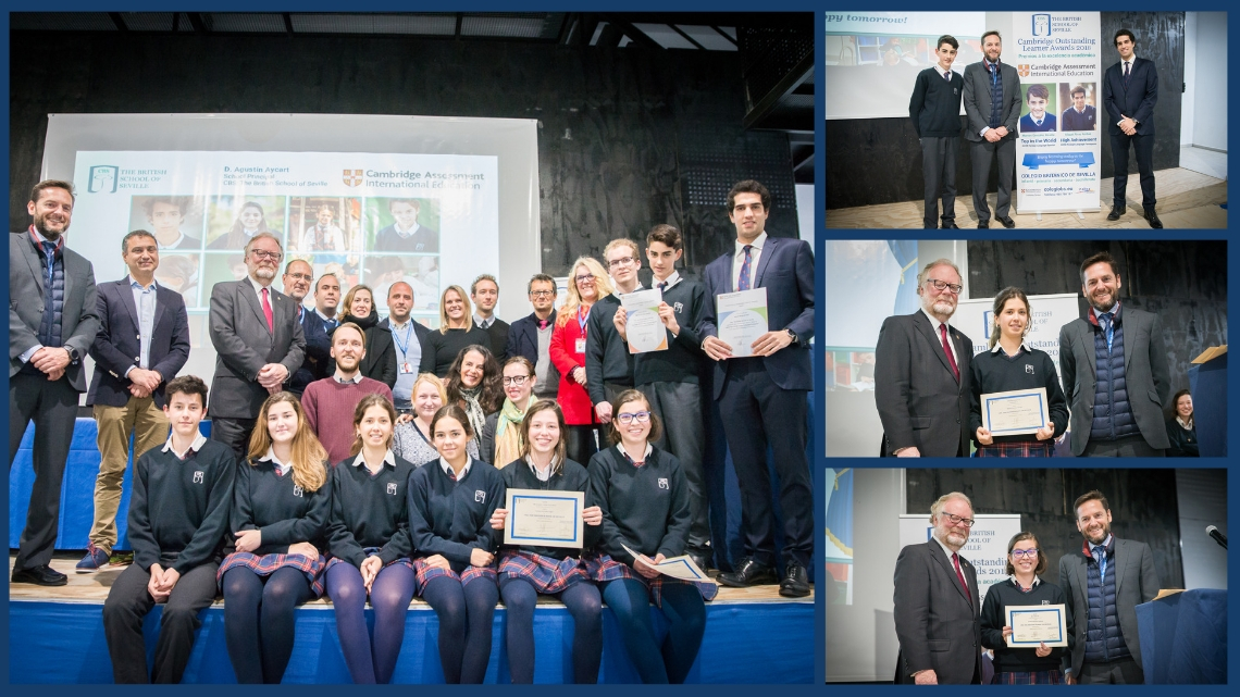 Celebration of Achievement y Outstanding Cambridge Learner Awards en CBS 2019