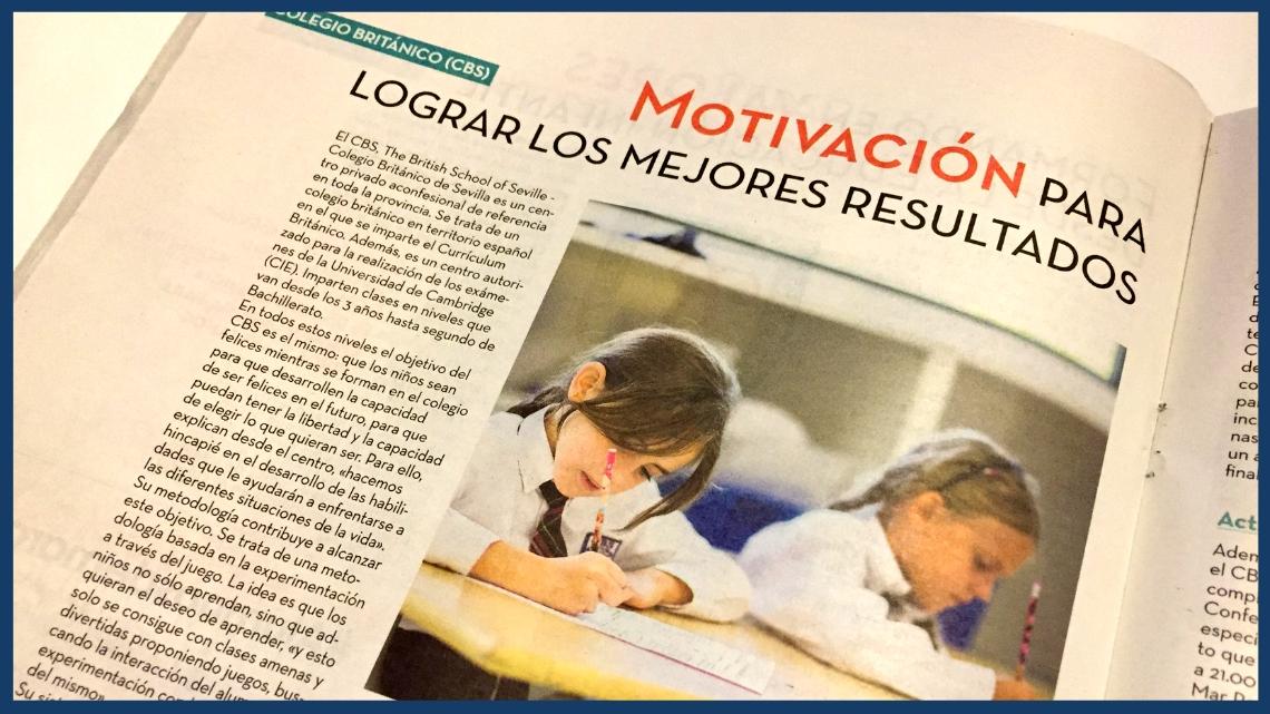 CBS, The British School of Seville – Motivación para lograr los mejores resultados