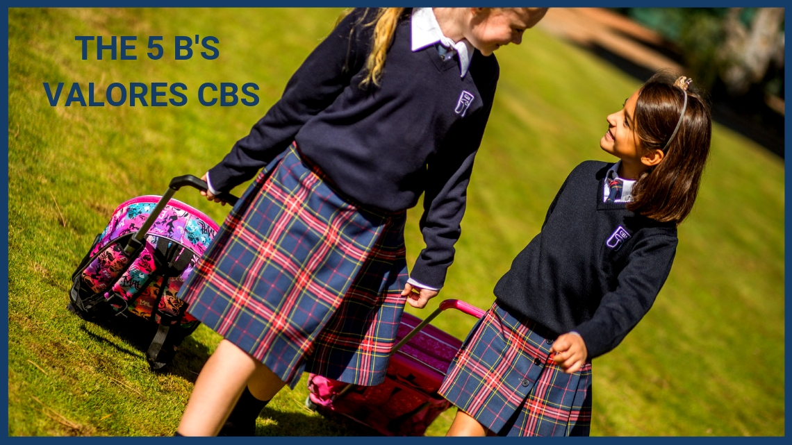 The 5 B's – Valores del CBS, The British School of Seville