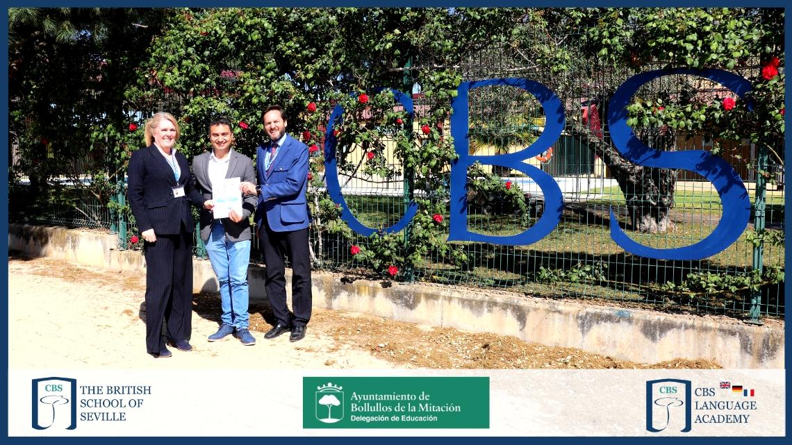 Acuerdo entre CBS y Ayuntamiento de Bollullos para ayudas a familias para aprender inglés