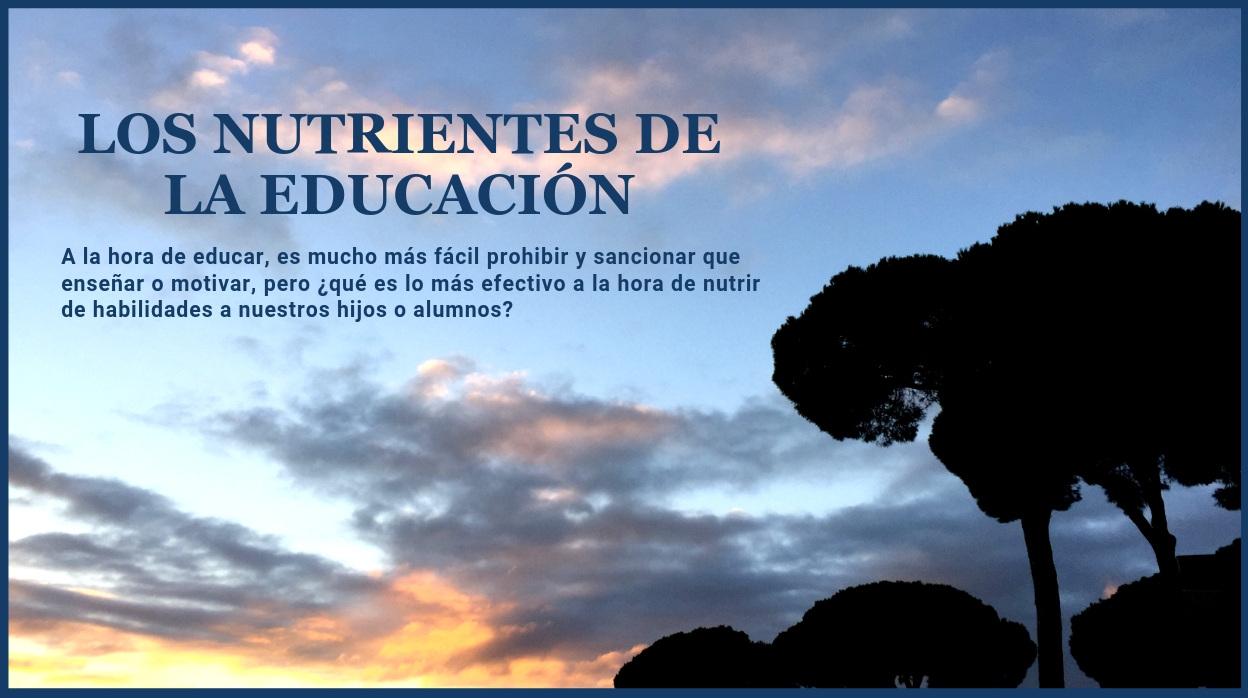 Los nutrientes de la educación
