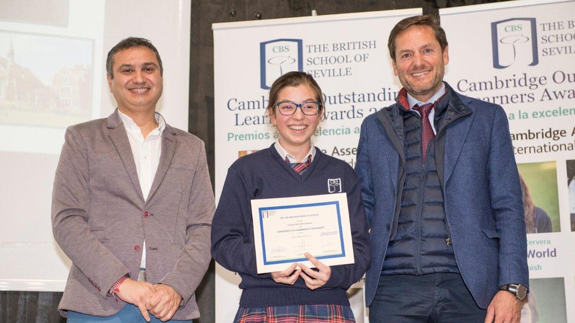 Alumna de CBS es admitida en la prestigiosa Universidad de Cambridge