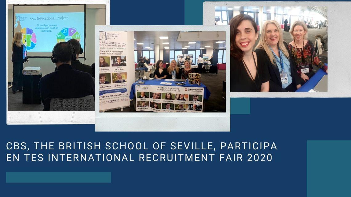 CBS, The British School of Seville, participa en TES International Recruitment Fair