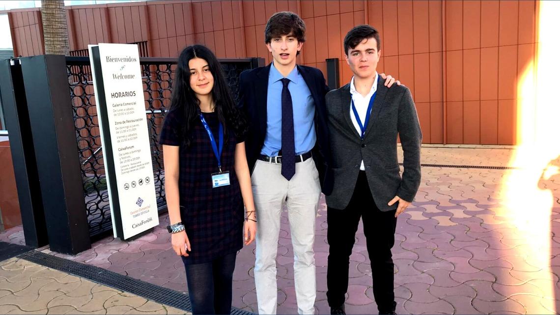 Tres alumnos de CBS, forman parte de la Fase Regional del EYP, European Youth Parliament