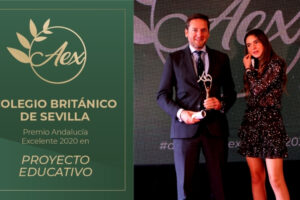 Noticia CBS Premio Andalucía Excelente 2020 en la Categoría de Proyecto Educativo
