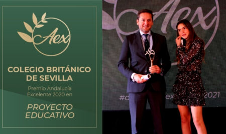 CBS Premio Andalucía Excelente 2020 en la Categoría de Proyecto Educativo